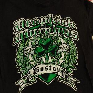 Dropkick Murphy's shirt size mediumn